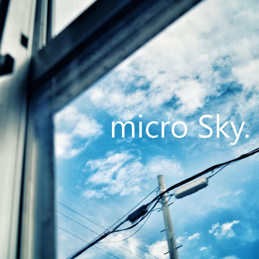 Instrumental album「micro Sky.」